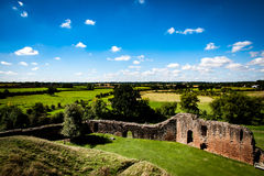Ruined castle Royalty Free Stock Images
