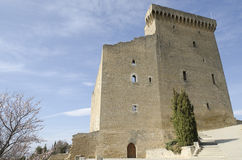 Ruined Castle In Provence Royalty Free Stock Images