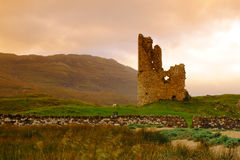 Ruined Castle, Scotland Royalty Free Stock Images
