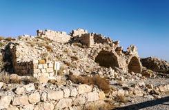 Ruined castle Shobak Royalty Free Stock Images