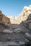 Ruined castle Shobak Stock Image