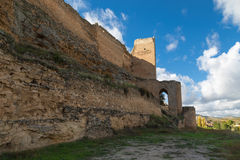 Ruined castle wall Royalty Free Stock Photo