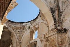 Ruined Cathedral, Antigua Guatemala Stock Photo