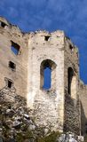 Ruined chapel of Beckov castle. Exterior of ruined chapel of Beckov castle, Slovakia Stock Images