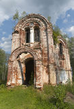Ruined church Stock Image