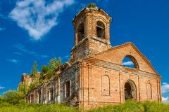 Ruined church Stock Photography