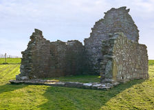 Ruined church building Royalty Free Stock Photo