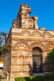 Ruined Church of Christ Pantokrator, Nessebar Stock Photo