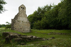Ruined church Stock Images