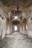 Church in ruin. An orthotox church in ruins Royalty Free Stock Photography