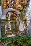 Ruined church royalty free stock photos
