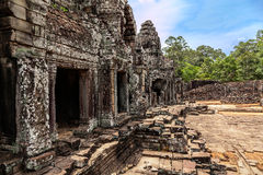 The ruined city of ancient Khmer Stock Photography