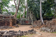 The ruined city of ancient Khmer Stock Photo