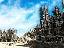 Ruined City Royalty Free Stock Photo