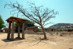 Ruined city hampi at karnataka india