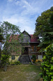 Ruined colonial house, Seychelles Royalty Free Stock Photos