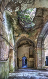 Ruined convent of Seica stock photo