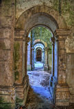 Ruined convent of Seica stock photography