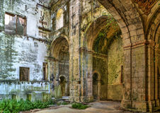 Ruined convent of Seica Royalty Free Stock Images