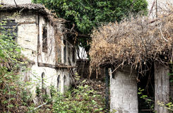 The Ruined Cottage Stock Images