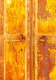Ruined Door Royalty Free Stock Photography