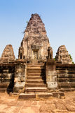 Ruined East Mebon Temple, Angkor, Cambodia Royalty Free Stock Image