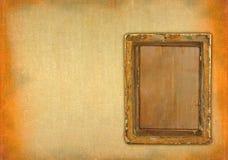 Ruined empty frame Royalty Free Stock Photos