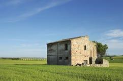 Ruined farm-Apulia-Italy Royalty Free Stock Photo