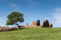 Ruined farmhouse Royalty Free Stock Photo
