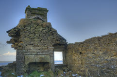 Ruined farmhouse, Orkney Stock Image