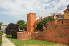 Ruined fortifications of Warsaw Royalty Free Stock Photography
