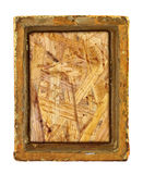 Ruined gilded frame Stock Images