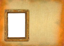 Ruined hollow frame Royalty Free Stock Photography