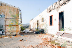 Ruined home Stock Photo