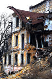 Ruined house. Old Odessa Ukraine Royalty Free Stock Images
