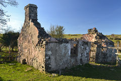 Ruined house Stock Image