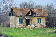 Ruined house. In transylvania land of romania Stock Photography