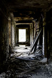 In the ruined house Royalty Free Stock Photos