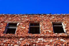 Ruined house-3 Royalty Free Stock Photos
