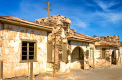 Ruined House in Chile Stock Photos