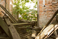 Ruined house Stock Photography