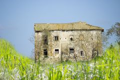 Ruined house Royalty Free Stock Image