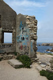 Ruined house, Quiberon, Brittany.