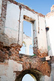 Ruined house walls Royalty Free Stock Photography