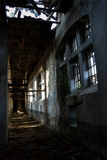 Ruined interior Stock Images