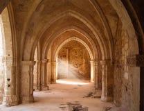 Ruined Italian church Royalty Free Stock Photos