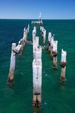 Ruined Jetty Stock Photo