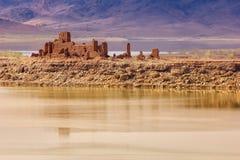 Ruined Kasbah. El Mansour Eddahbi. Ouarzazate. Morocco. Royalty Free Stock Image