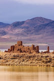 Ruined Kasbah. El Mansour Eddahbi. Ouarzazate. Morocco. Royalty Free Stock Photos