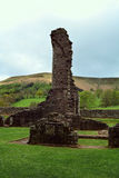 Ruined Llanthony priory, Abergavenny, Monmouthshire, Wales, Uk Stock Photography